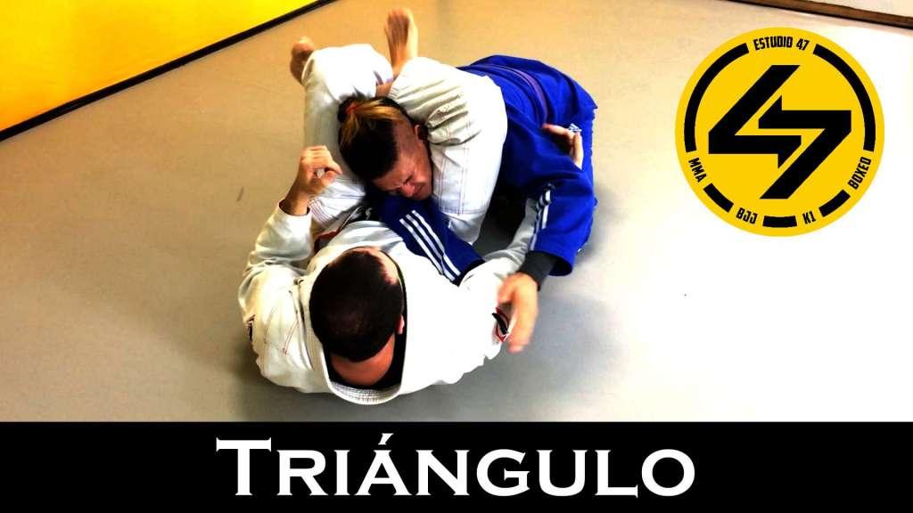 triángulo bjj