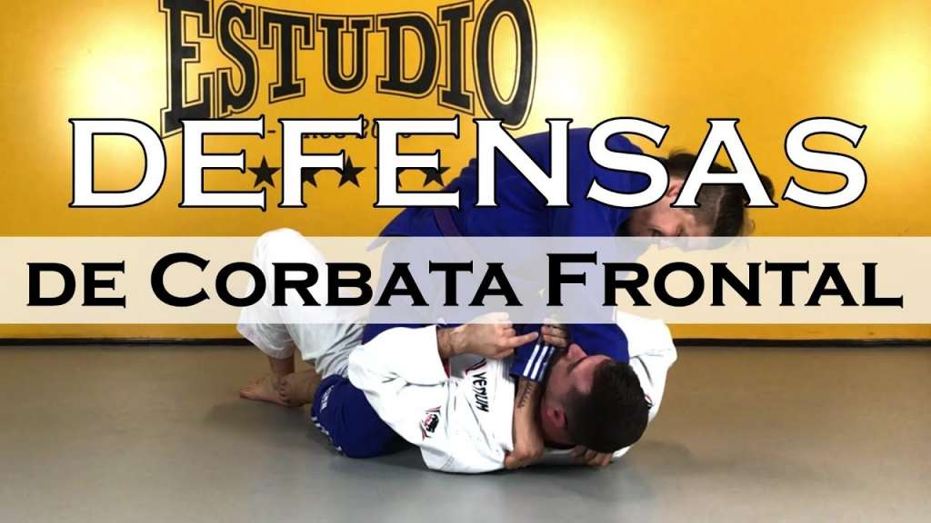 bjj defensa de corbata frontal