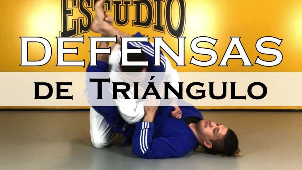 bjj defensa de triángulo