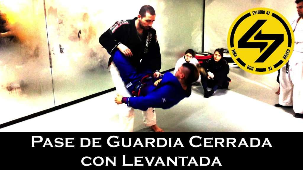 bjj rotura de guardia con levantada