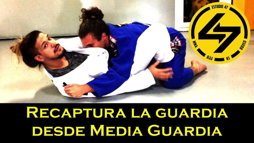 bjj salida de media guardia recaptura