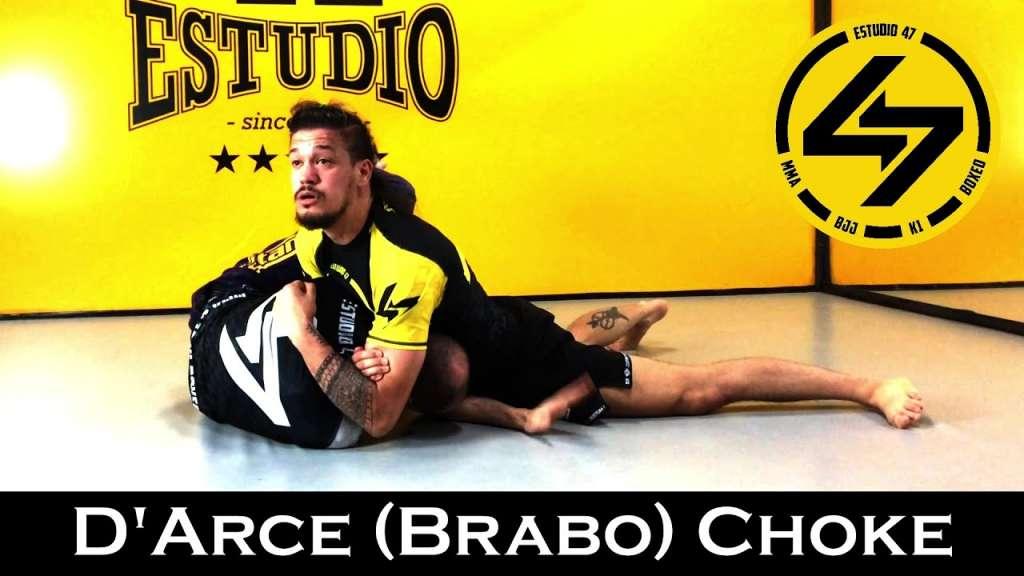 BJJ D'Arce choke